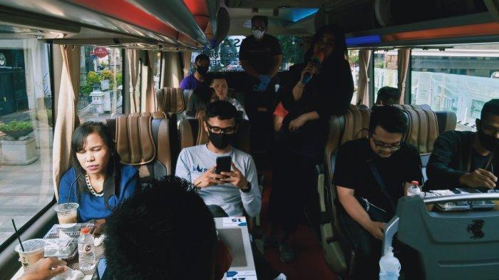 Wisata Alternatif Saat Pandemi, Keliling Bandung Sambil Minum Kopi di Dalam Bus