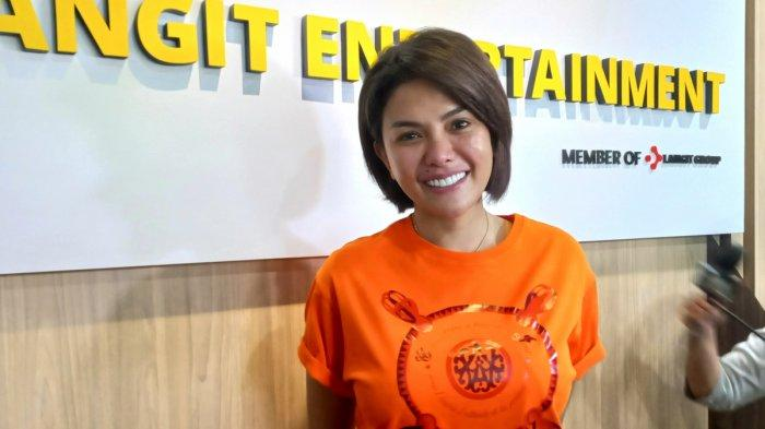 Nikita Mirzani ketika ditemui di kantor Langit Entertaiment, di Jalan Ciledug, Pesanggrahan, Jakarta Selatan, Rabu (11/8/2021).
