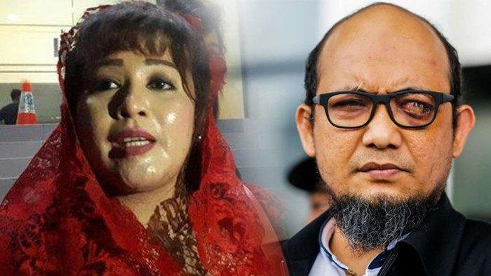 Viral #Tangkapdewitanjung Setelah Penyerang Novel Baswedan Ditangkap, Dewi Tanjung Tak Mau Pusing