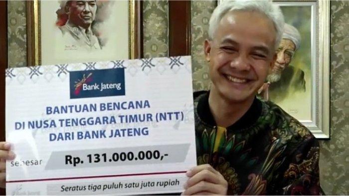 Gubernur Ganjar Pranowo kirim bantuan bagi korban bencana banjir bandang di Flores Timur (NTT)
