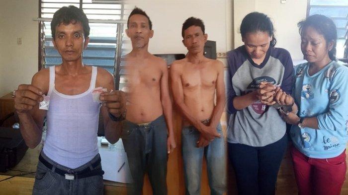 5 Orang Tertangkap Gunakan Sabu di Rumah Kosong, Ternyata Semuanya Satu Keluarga