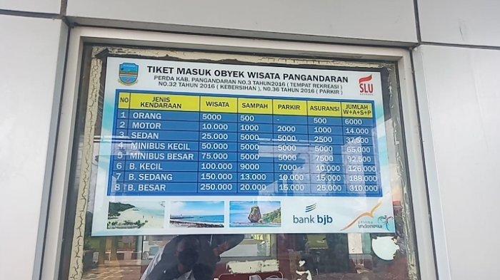 Tiket Masuk Objek Wisata Jadi Tolok Ukur Pemkab Pangandaran untuk Menghitung Jumlah Pengunjung