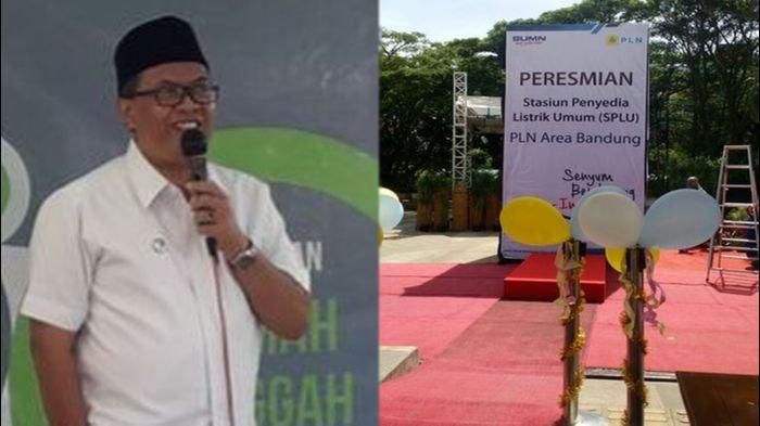 Wakil Wali Kota Bandung Resmikan SPLU PLN di Taman Cikapundung Riverspot
