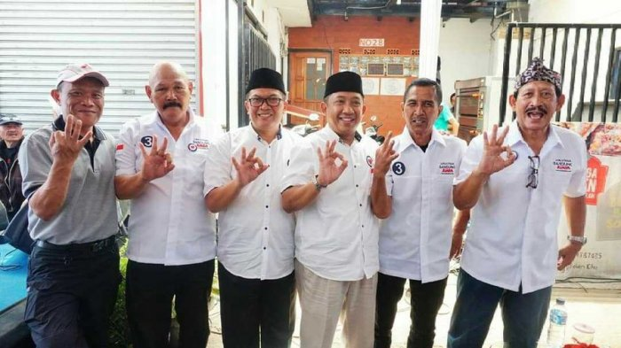 Sejumlah Tokoh Olahraga dan Eks Pemain Persib Dukung Oded-Yana di Pilwakot Bandung 2018