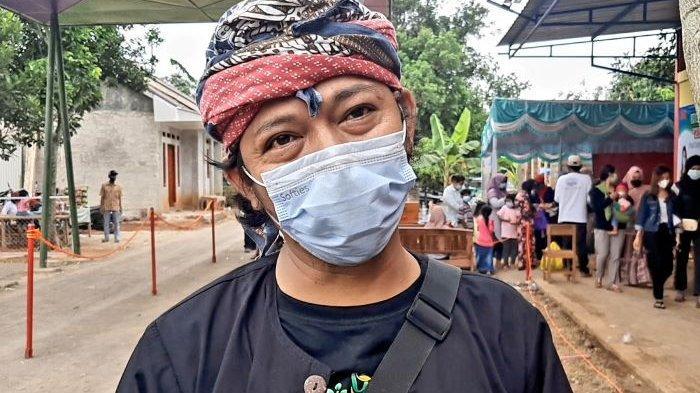Oga Wilantara ketika diwawancara seusai peresmian O&I Farm di Kampung Kukulu, Kecamatan Pagaden Barat, Kabupaten Subang, Selasa (18/5/2021).