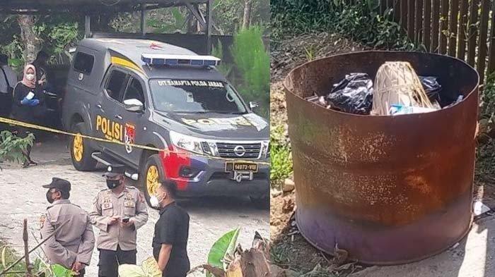 Olah TKP kasus Subang dan tempat sampah dekat lokasi kejadian