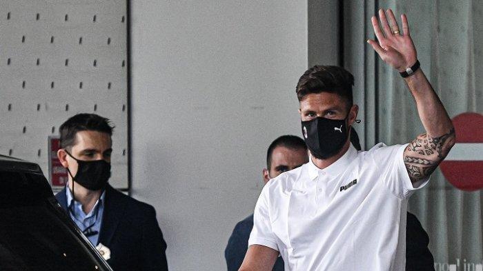 Olivier Giroud Terancam Kutukan Nomor Keramat di AC Milan, tak Ada yang Sukses Setelah Inzaghi