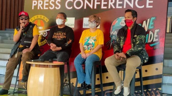 Penggemar Motor Royal Enfield Berlebaran & Dukung Ekonomi Lokal, Sekaligus Rayakan HUT Kota Bandung