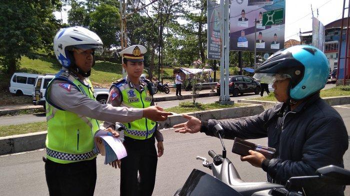 Operasi Zebra Lodaya di Cianjur, 9 Ribu Pengendara Kena Tilang, Mayoritas Karena Ini