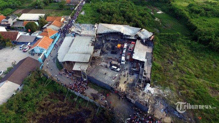 Awal Mula Kebakaran di Pabrik Petasan yang Menewaskan Setidaknya 47 Orang