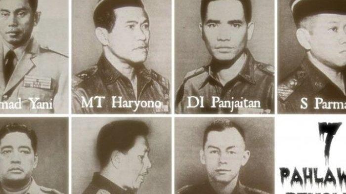 Pahlawan revolusi korban G30S/PKI.