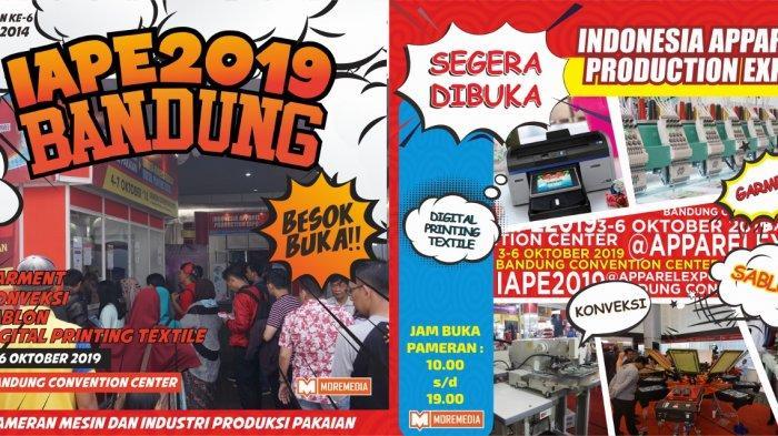 Pameran Mesin Dan Industri Produksi Pakaian Terbesar Di Jawa Barat Siap Dihadiri Ribuan Pengunjung.