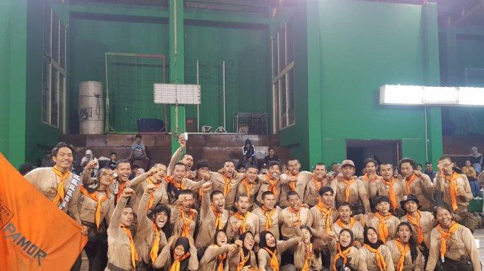 37 Peserta Diklatsar Angkatan 34 Resmi Dilantik Jadi Anggota Muda PAMOR