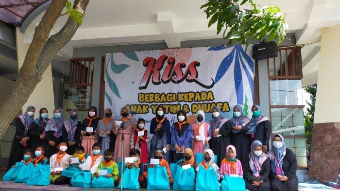 Kiss Berbagi di Bulan Muharam, Santuni Anak Yatim di Kawasan Kompleks Matahari Regensi