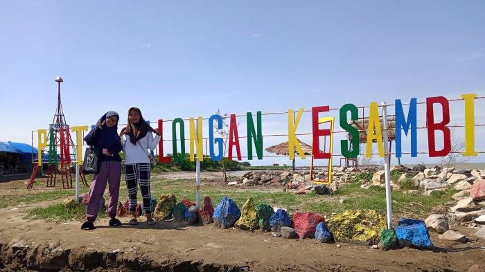 Mengintip Keindahan Pantai Balongan Kesambi, Wisata Terbaru di Indramayu, Punya Banyak Spot Selfie