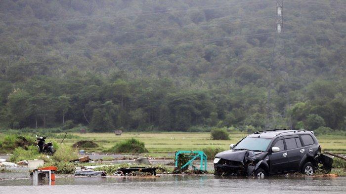 Zona Waspada Tsunami Diturunkan, Jumlah Pengungsi di Pandeglang Banten Berkurang