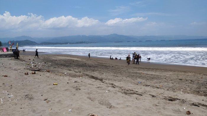 Wisata Pantai Citepus Sukabumi Kembali Sepi, Penghasilan Pedagang hingga Penunggang Kuda Anjlok