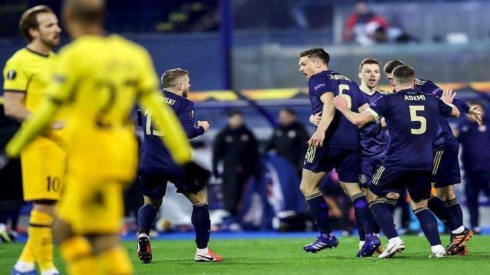 Jose Mourinho Marah, Tottenham Hotspur Gugur di Liga Eropa, Disingkirkan Dinamo Zagreb