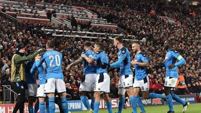 Napoli Salip Inter dan AC Milan, Naik ke Puncak Klasemen Liga Italia, Menang Telak atas Sampdoria