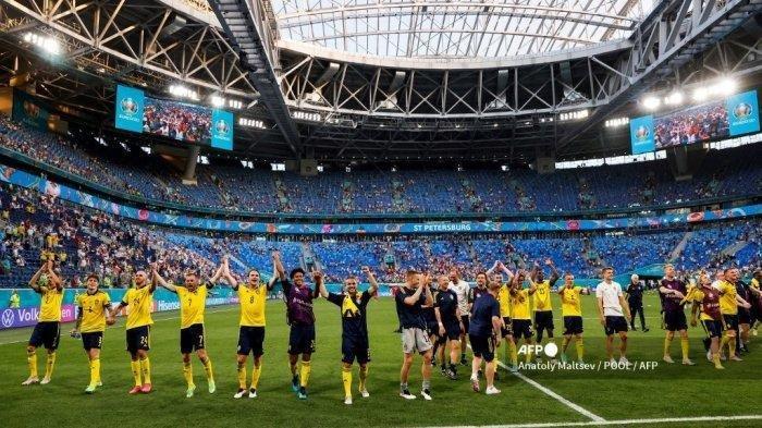 Klasemen Grup E Euro 2021, Swedia dan Polandia Lolos, Spanyol Tantang Kroasia di Babak 16 Euro 2020