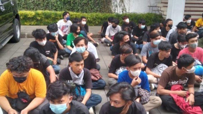 Ratusan Pemuda Diamankan, Kebanyakan Anak SMA, Mengaku Diajak Aksi Unjuk Rasa Dari Media Sosial