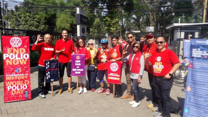 Dua Negara di Dunia Masih Terinfeksi Polio, Rotary Club Ingatkan Masyarakat Indonesia Agar Waspada