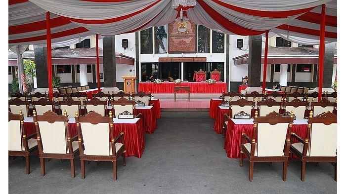 Rapat Paripurna RAPBD Kabupaten Cirebon di Halaman Gedung DPRD Sudah Disiapkan