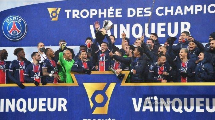 Paris Saint-Germain Juara Piala Super Prancis, Gelar ...