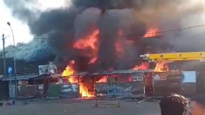 Polres Tasikmalaya Kota Datangkan Puslabfor Polda Jabar Selidiki Penyebab Kebakaran Pasar Ciawi