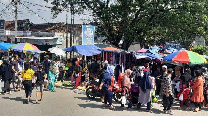 Pasar Tonggeng Baleendah Kembali Ramai, Lalu Lintas di Depan RS Al Ihsan Macet