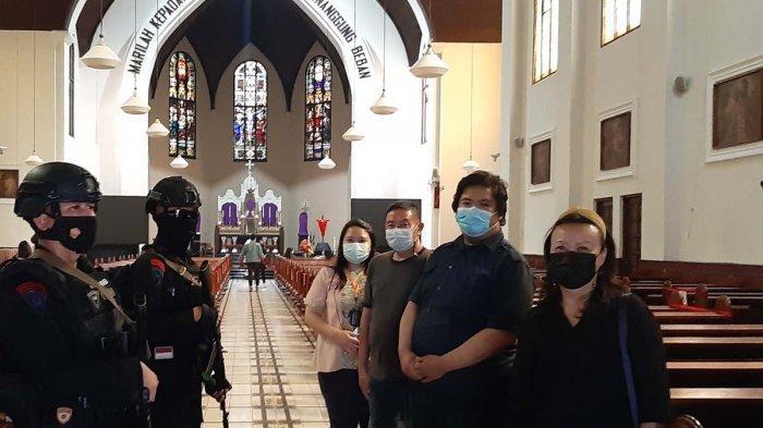 MisaPaskah 2021 di Katedral Bandung Dibatasi, Jemaat Kurang dari 30 persen Kapasitas