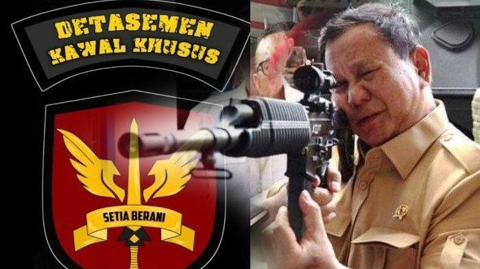 Prabowo Bentuk Denwalsus Berjumlah 100 Orang, Kemampuannya Luar Biasa, Dilatih Kopassus di Bandung