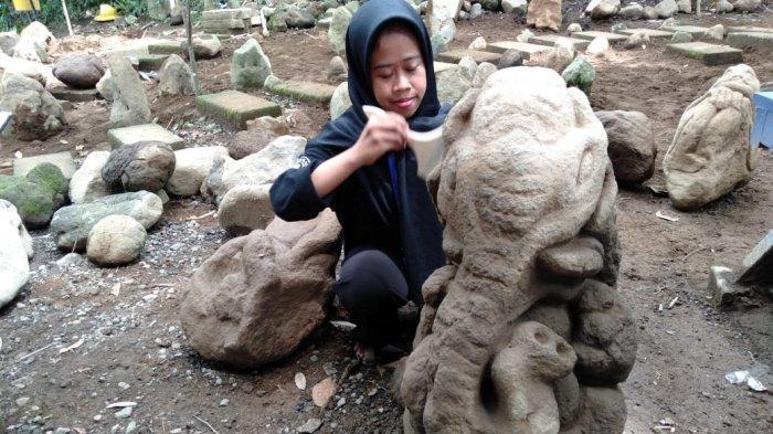 Cerita Puluhan Patung Peninggalan Sejarah Ditemukan di Batu Mahpar Tasik, Ada Patung Bayi & Ganesha