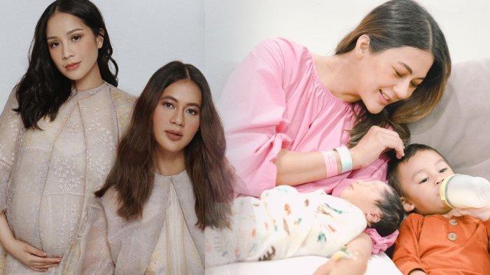 Baby Kenzo Buat Luna Maya dan Nagita Pangling, Baim Wong dan Paula Verhoeven Aneh atas Wajah Bayinya