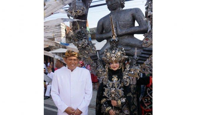 Pawai Jampana PDAM Cianjur Juara Saat HUT Cianjur, Tahun Depan akan Hadirkan Artis Ibu Kota