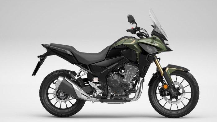 Big Bike Populer Bergaya Adventure Honda CB500X Tampil Semakin Agresif