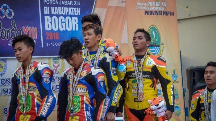 Empat Atlet Balap Motor Subang Wakili Jabar di PON Papua