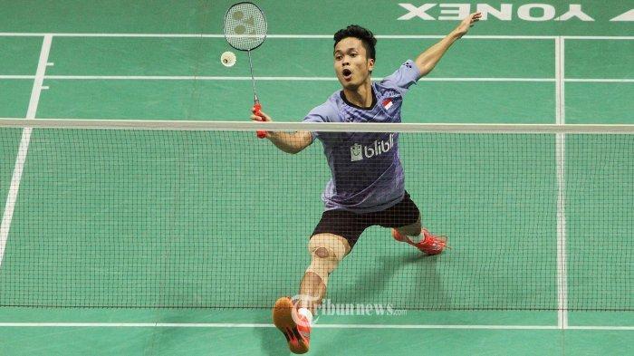 Jadwal Final Hongkong Open 2019, Siang Ini: Anthony Sinisuka Ginting Ketemu Pemain Tuan Rumah