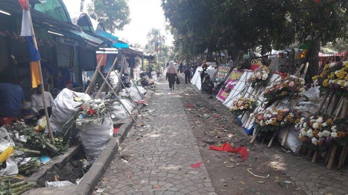 Pedagang Bunga yang Direlokasi di Tegalega Berharap Dipromosikan Pemerintah