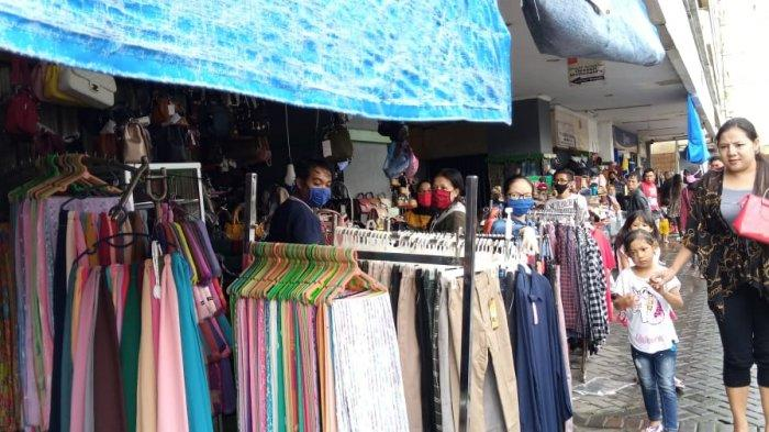 HEBOH Warga Ramai Belanja di Tengah PSBB Kota Bandung, Oded : Kita Akan Sikapi