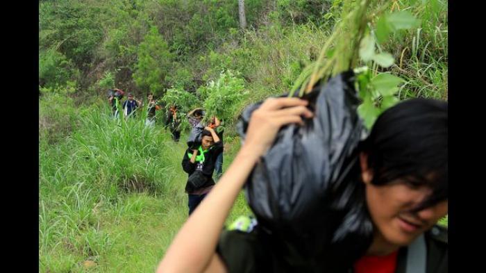 Jalur Pendakian dan Lokasi Kamping Buka Lagi, Gunung Manglayang Bandung Diserbu Pendaki