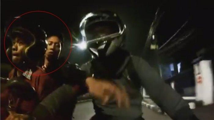 VIDEO VIRAL Aksi Begal Gagal di Jakarta, Wajahnya Terekam Jelas di Kamera, Korban Ngebut dan Selamat