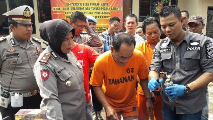 Pelaku Pencurian di 11 Minimarket KBB dan Cianjur Ditembak Anggota Polsek Padalarang