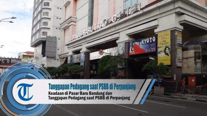Tahu PSBB Diperpanjang tapi Pedagang Pasar Baru Masih Nekat Jualan, Minta Buka sampai Lebaran
