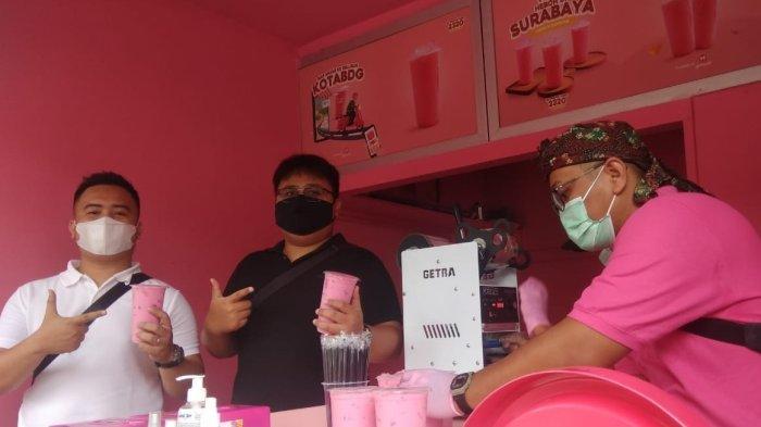 Optimis Usaha Ditengah Pandemi Covid, Es Permen Karet Viral Surabaya, Buka Cabang di Cikutra Bandung