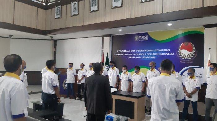 Ana Sudjana Jadi Ketua APSSI Kota Bandung 2021-2025, Ini Pesan Ketua PSSI Kota Bandung