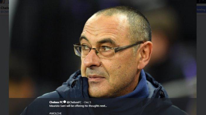 Maurizio Sarri Resmi Jadi Pelatih Lazio, Gantikan Simone Inzaghi yang ke Inter Milan