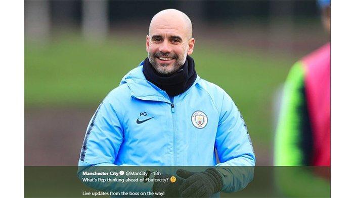 Pelatih Manchester City Pep Guardiola Bantu Spanyol 918.000 Pound untuk Pencegahan Virus Corona