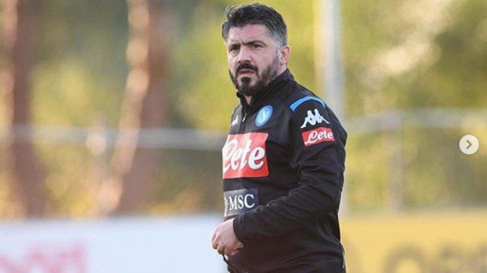Gennaro Gattuso Dipecat karena Napoli Kehilangan Tiket Liga Champions, Presiden Klub Cuit di Twitter