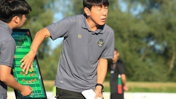 Pelatih Timnas Indonesia U-22 Shin Tae-yong